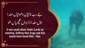 Eh Tan Mera Chashma Hove – Abyat e Bahoo – Kalam Hadrat Sultan Bahoo -Raja Hamid Ali